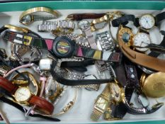 AN ASSORTMENT OF WATCHES.
