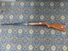 A WEBLEY MARK 3 AIR RIFLE