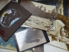 A SELECTION OF EARLY PHOTOGRAPHS.