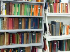 A LARGE COLLECTION OF BOOKS, VARIOUS