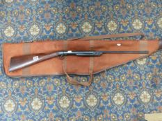 A VINTAGE AIR RIFLE.