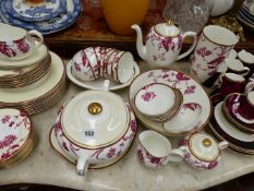 A ROYAL DOULTON DINNER AND COFFEE SERVICE