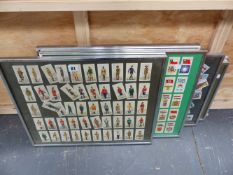 A COLLECTION OF CIGARETTE CARDS.
