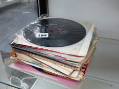COLLECTION OF 45 RPM SINGLES.