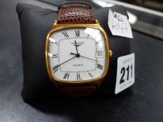 A GENTS LONGINES WATCH.