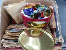 VARIOUS EPHEMERA AND COLLECTABLES.