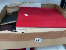 COLLECTION OF STAMP ALBUMS ETC.