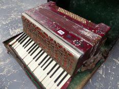 A COCH PIANO ACCORDIAN.