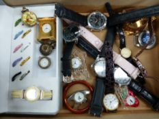 A SELECTION OF WATCHES.