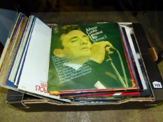 A QTY OF RECORDS.