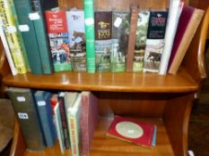 A QTY OF BOOKS, HORSE RACING,.
