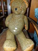 A LARGE TEDDY BEAR.
