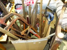 A LARGE BOX OF TOOLS.