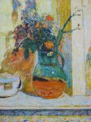 AFTER PIERRE BONNARD (1867-1947) PROVENCAL JUG, SIGNED COLOUR PRINT. 55 x 44cms.
