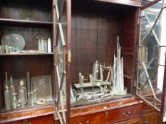 A LARGE QUANTITY OF SCIENTIFIC AND LABORATORY GLASSWARES. (QTY)