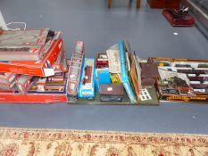 A GROUP OF VARIOUS LIMA 00 GAUGE RAILWAY SETS AND ACCESSORIES, A PALITOY TRAIN SET AND AIRFIX