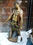 A LLADRO FIGURE OF OTHELLO. H.45cms.