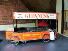 "A NOVELTY GUINNESS ""BUS"" BOTTLE CRATE"