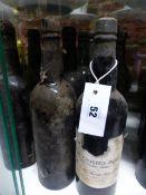 PORT, SMITH-WOODHOUSE 1980 CRUSTED PORT. ONE BOTTLE . NINE UN-LABELLED, 3 WITH DETERIORATED CORKS