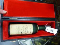 WHISKEY, GLENLIVET ROYAL WEDDING RESERVE NO 396, IN PRESENTATION BOX.
