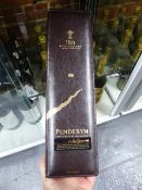 WHISKEY, A PRESENTATION BOTTLE IN BOX PENDERYN WHISKEY TO COMMEMORATE 125 YEARS OF WELSH RUGBY.