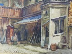 ATTRIBUTED TO THOMAS HARTLEY CROMEK (1809-1873) THREE EASTERN EUROPEAN CITY VIEWS, WATERCOLOUR.
