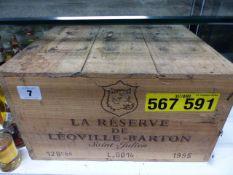 LA RESERVE DE LEOVILLE-BARTON SAINT JULIEN.