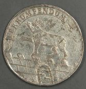 Anhalt - Bernburg 1727 II G, 2/3 Taler - Silbermünze. Erhaltung: vz. Anhalt - Bernburg 1727 II G,