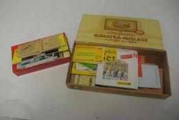 2 kleine Schachteln mit Markenheftchen BRD und Berlin, große Vielfalt. 2 small boxes with stamp book
