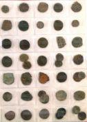 Schönes Lot alte Münzen, alle Byzanz.160 Stück, dabei auch seltenere und größere Münzen. Alles