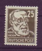 DDR 1952, Mi.-Nr. 224 Va x 1. Geprüft Müller.