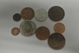 kleines Lot Münzen Italien, ab 1861. Besichtigung empfohlen. little Lot coins Italy, from 1861.