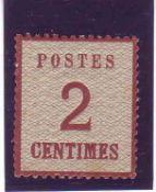 Norddeutscher Postbezirk 1870, Mi. - Nr. 2 II a. Okkupationsgebiet. Keine Falz, jedoch kleiner