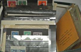 schöner Steckkartenpost, dabei viel Bayern, DDR Zusammendruck usw, Besichtigung empfohlen.