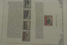 Baukunst des Abendlandes im entsprechendem Vordruckalbum, darunter auch Deutsches Reich für den