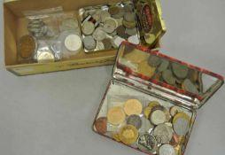 Lot Münzen und Medaillen ganze Welt, schöne Fundgrube. Besichtigung empfohlen.