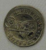 Bamberg-Bistum, Batzen 1698. Erhaltung: vorzüglich, Katalog Nr. Krug 364 b. Bamberg-Bistum, Batzen