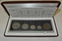 Kanada 1998 Special Limited Edition Prof Set, 90 th Anniversary of the Royal Canadian Mint mit