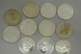11 Medaillen Vatikan, verschiedene Anlässe, Besichtigung empfohlen.