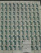 BRD, komplett Bogen, Michel Nr. 1448y, 1000 Stück, Katalgo Preis 750 Euro