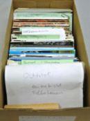 1 Schuhkarton voll Postkarten, meist Süd- und Osttirol, sowie etwas Bayern.