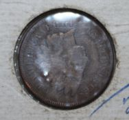 1 Cent Münze Vereinigte Staaten von Amerika von 1903, Zustand sehr schön. 1 Cent Coin United