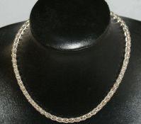 Kette, 925er Silber, Kettenlänge ca. 43 cm, Gewicht ca. 49 gr