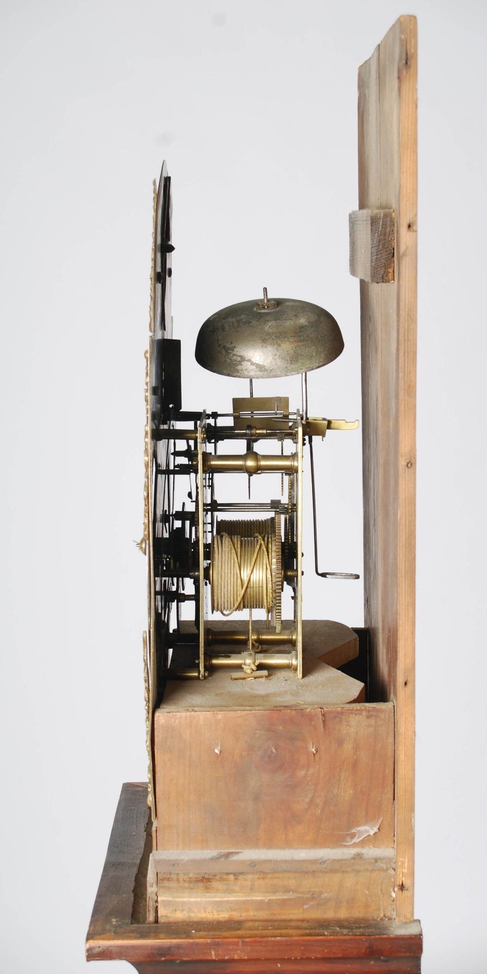 Lot 5 - A George III mahogany longcase clock, Alexr. Ferguson, Coupar of Fife, the brass dial with silver