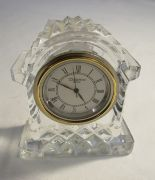 Lot 40 - Small Waterford crystal clock