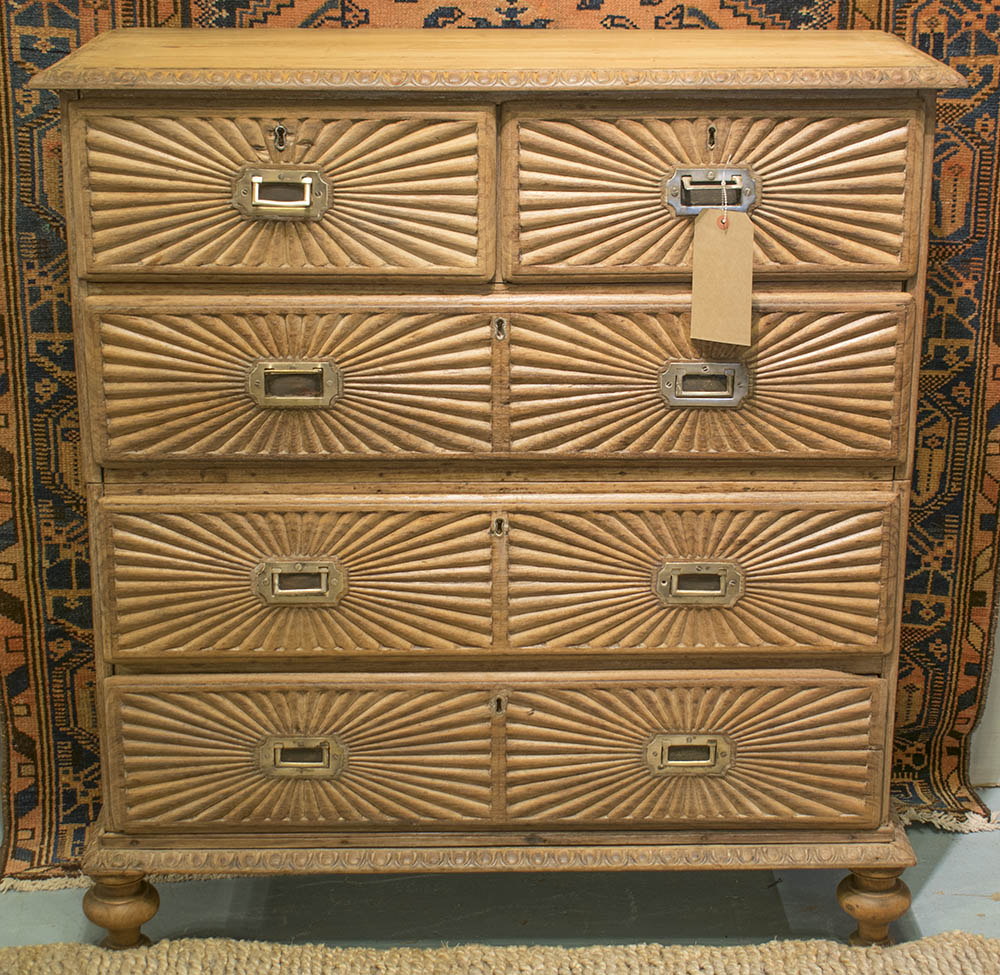 Lot 591 - INDO PORTUGUESE GOAN CHEST,