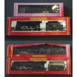 4 boxed Hornby 00 gauge scale models of locomotives and tenders: Princess Coronation Class BR 46238