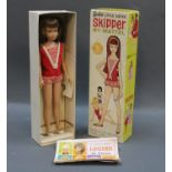 """A boxed Mattel """"Skipper"""" doll, 1963."""