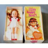 """A scarce """"Miss Happy Heart"""" doll, by Bluebell Toys Ltd, Southport. 51cm high & with instructions."""