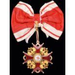 *Russia, Order of St Stanislaus, Civil Division, Grand Cross set of insignia by Albert Keibel, St